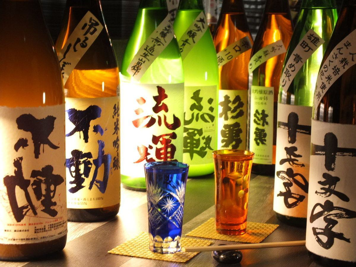 Delicious wine to delicious fish.Freshness carefully selected than the national life sake, shochu!