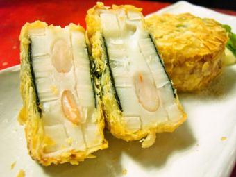 虾真实长度莲藕炒剪刀