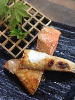 鲑鱼烤拉斯维加斯