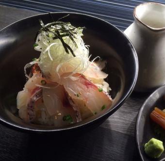 鲷鱼饭绿茶获得鲷鱼汤