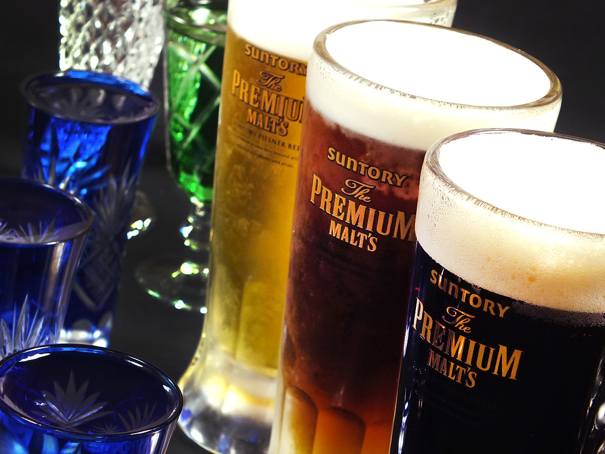 Premoles · black · local sake · full-flavor shochu included deals with all you can drink ☆