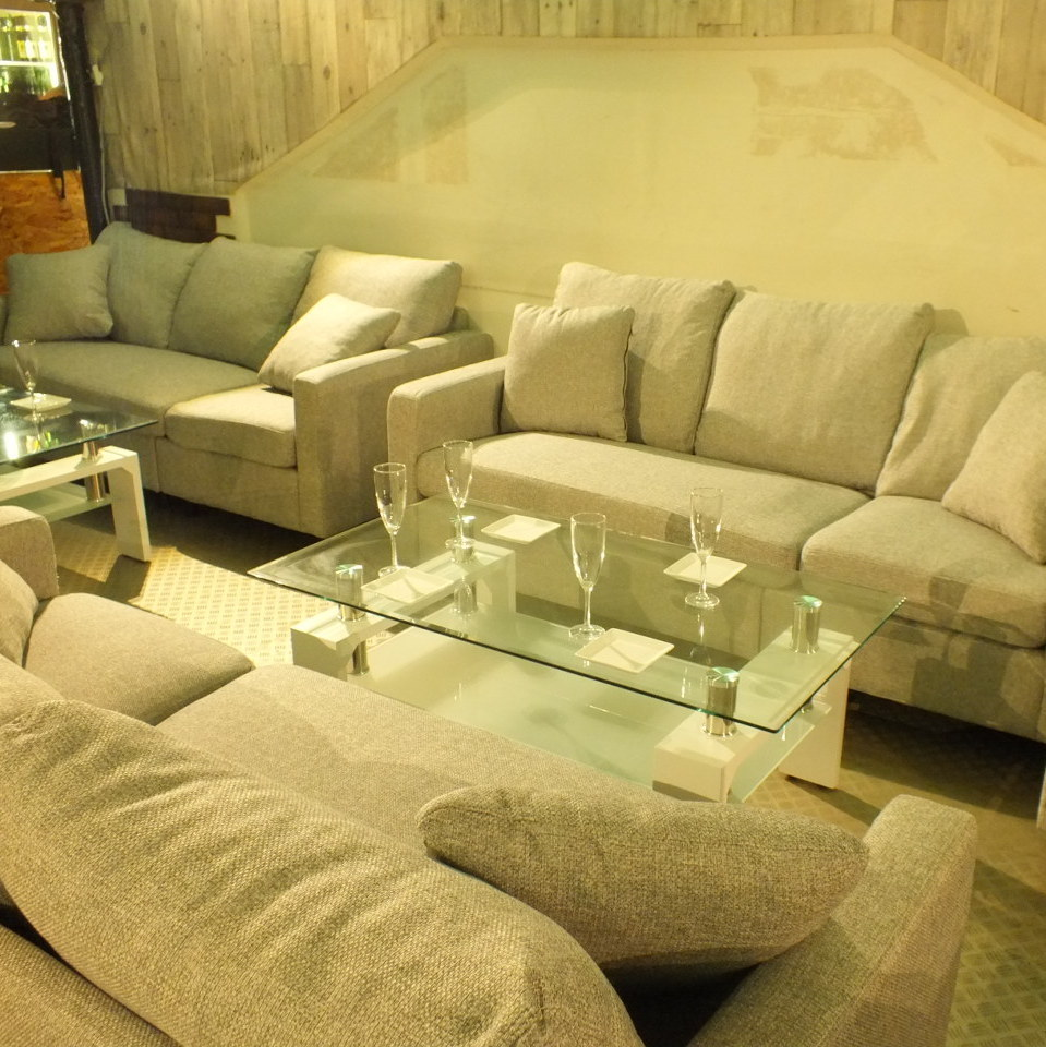 It is also possible to combine with other sofa seats ☆ Please consult your shop as the layout can be changed freely.