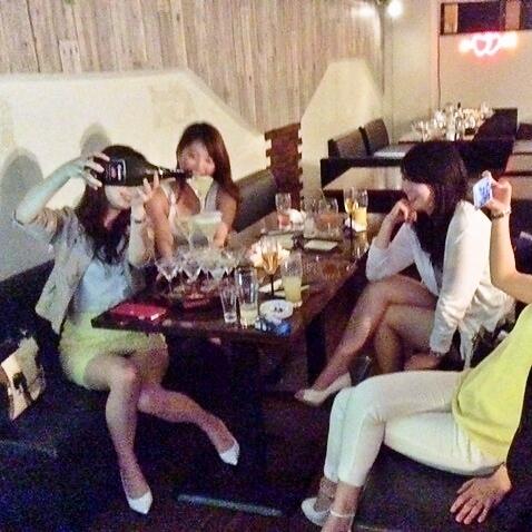 【Goodluck de Champagne Tower Birthday ♪】