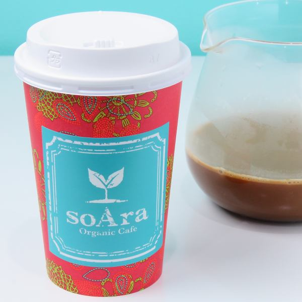 버터 커피 [M 사이즈 500 엔 L 사이즈 600 엔