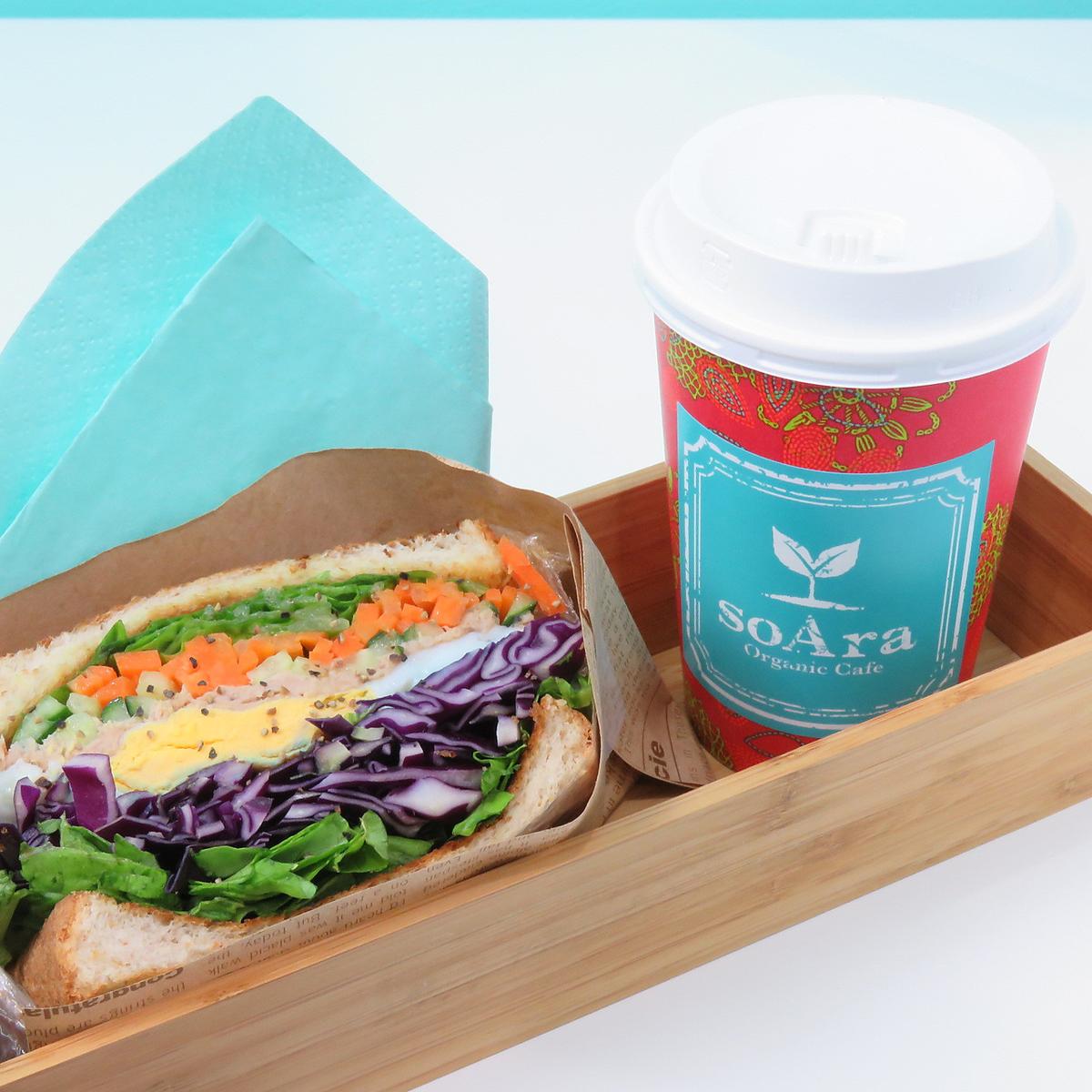 사진을 잘받는 샌드위치!