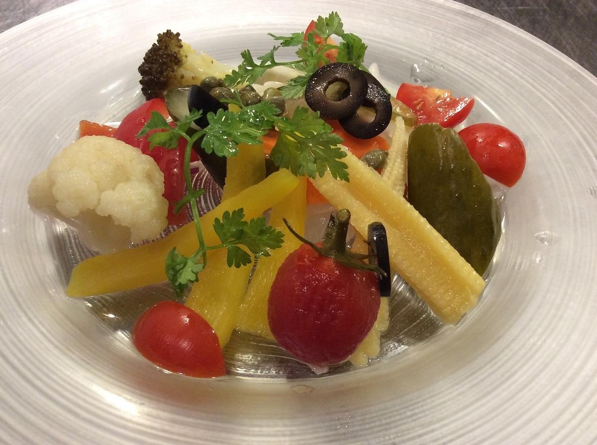 自家製野菜のピクルス