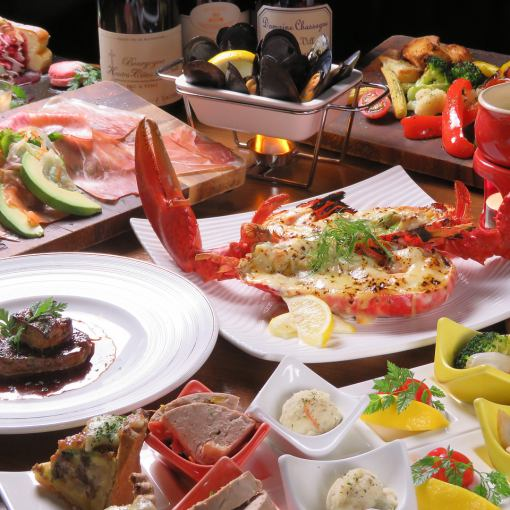 【Omaru shrimp! Fluency】 2h Drinking course with all 10 items 6000 yen