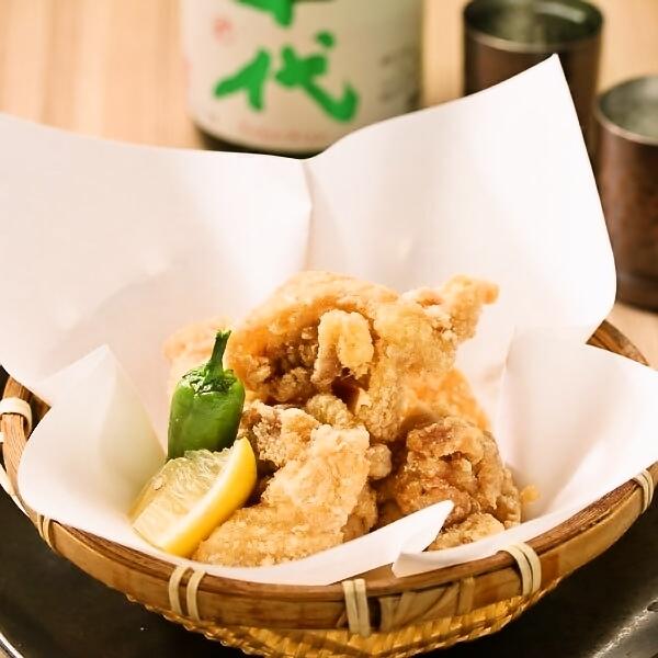 越後雞的炸Tatsuta