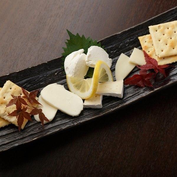 各種各樣的佐渡奶酪