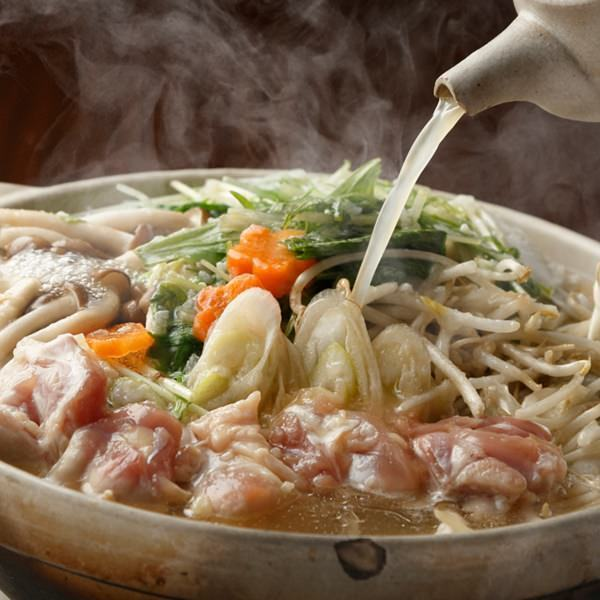 Koshi雞的Koshi鹽在水中煮熟了