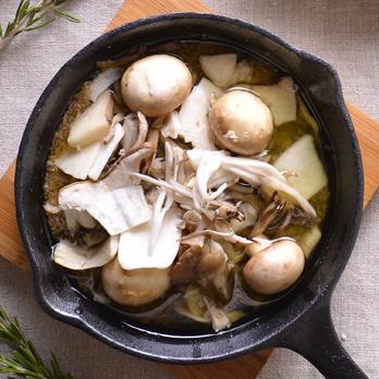Mushrooms plenty of ahijo