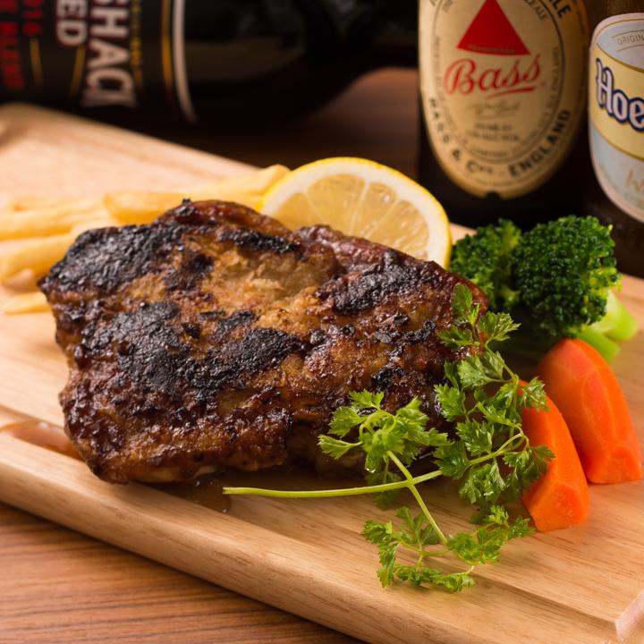 Sharia pin chicken steak