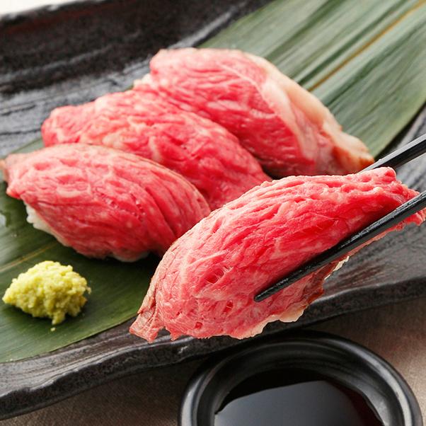 Roast beef sushi sushi