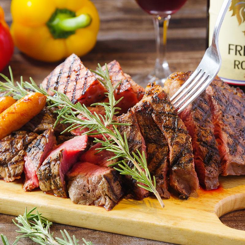 Steak is an order mandatory!