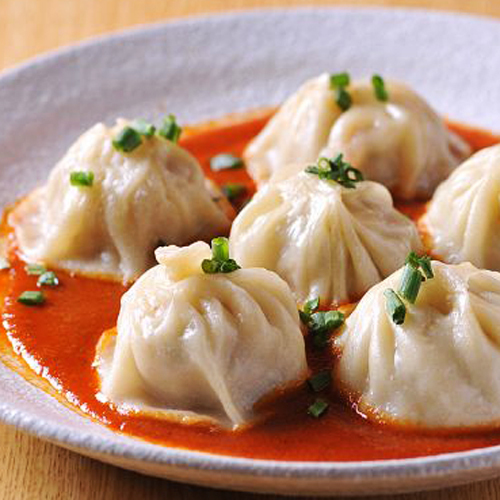 Nepalese style MOMO (Spicy Small Dragon Packet)