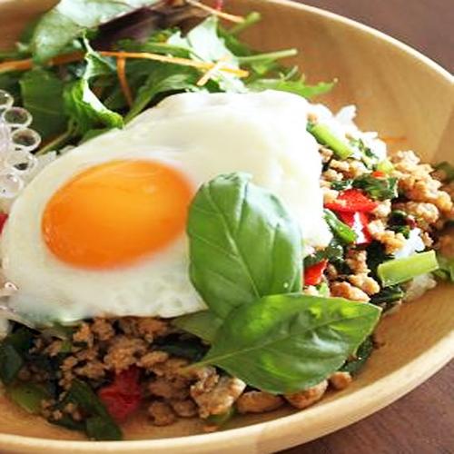 Thai style gaspa rice