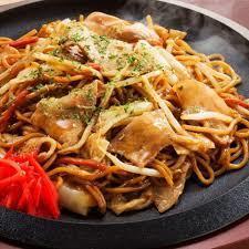 Street style sauce yakisoba