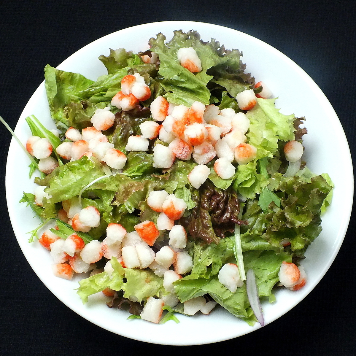 Crab salad with crab