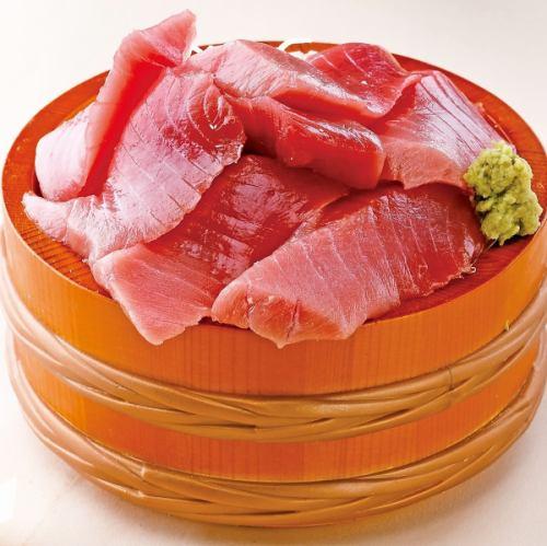 赤富士桶盛り