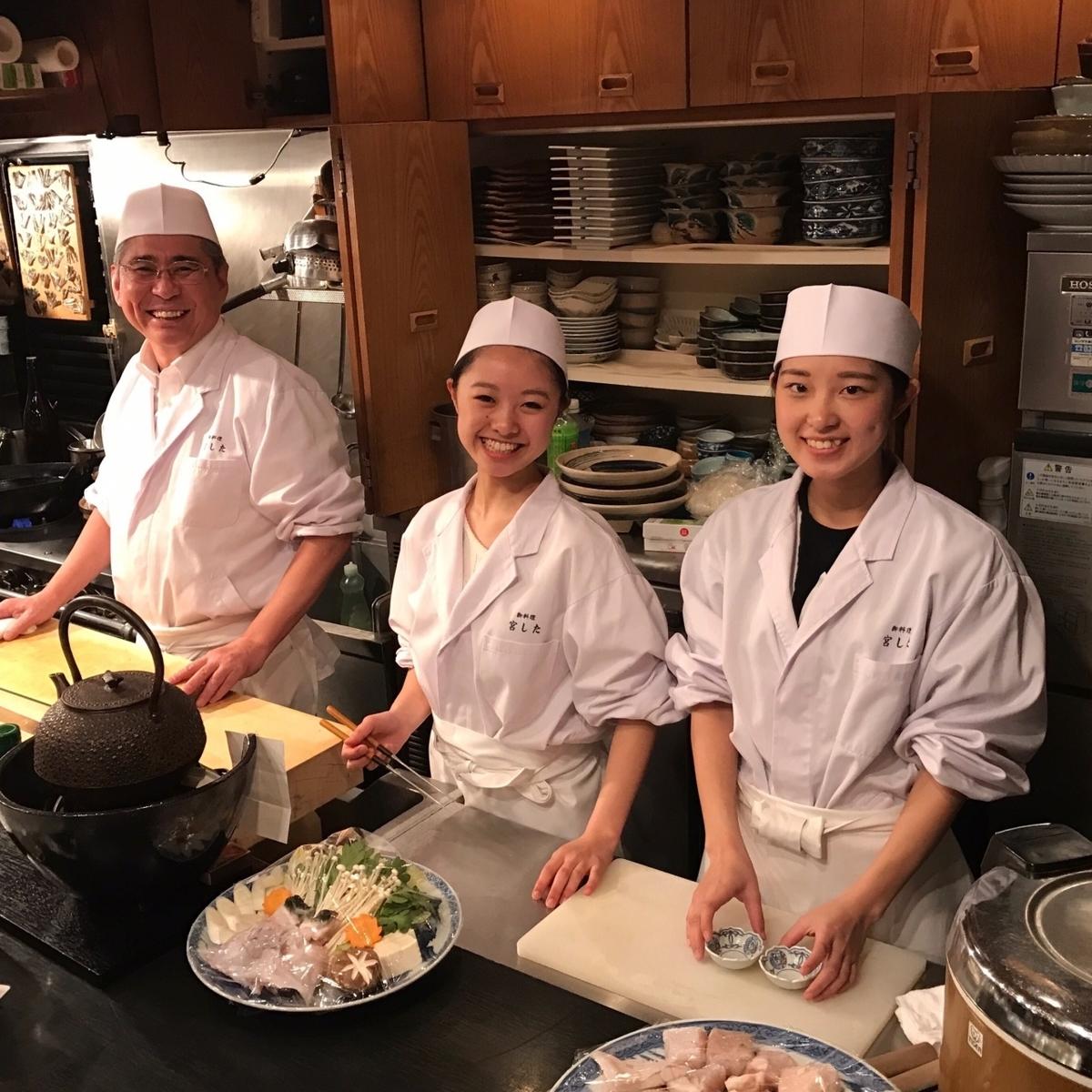 일본 요리에 정통한 요리사