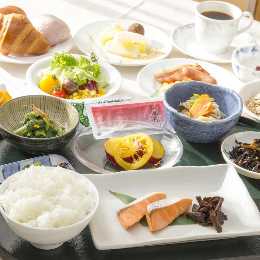 朝食ビュッフェ☆