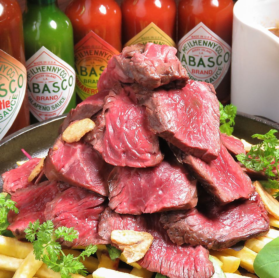 リーズナブルで最高級のお肉をてっぱん男が焼き上げる!