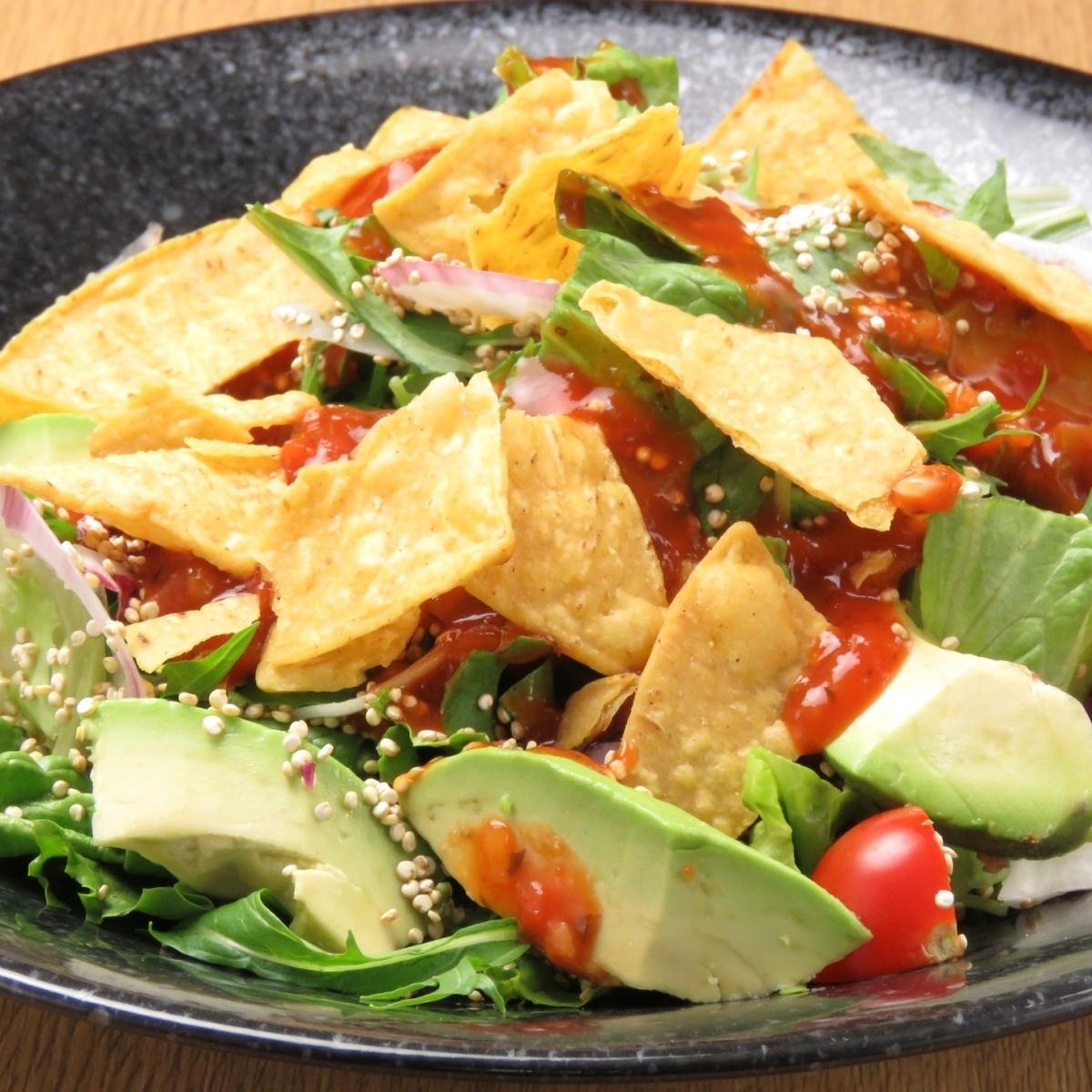 アボガドのメキシカンサラダ