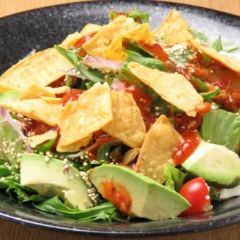 Mexican salad with avocado