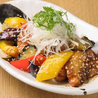 [Aroma fragrant] Stir-fried sea fish with grated lice