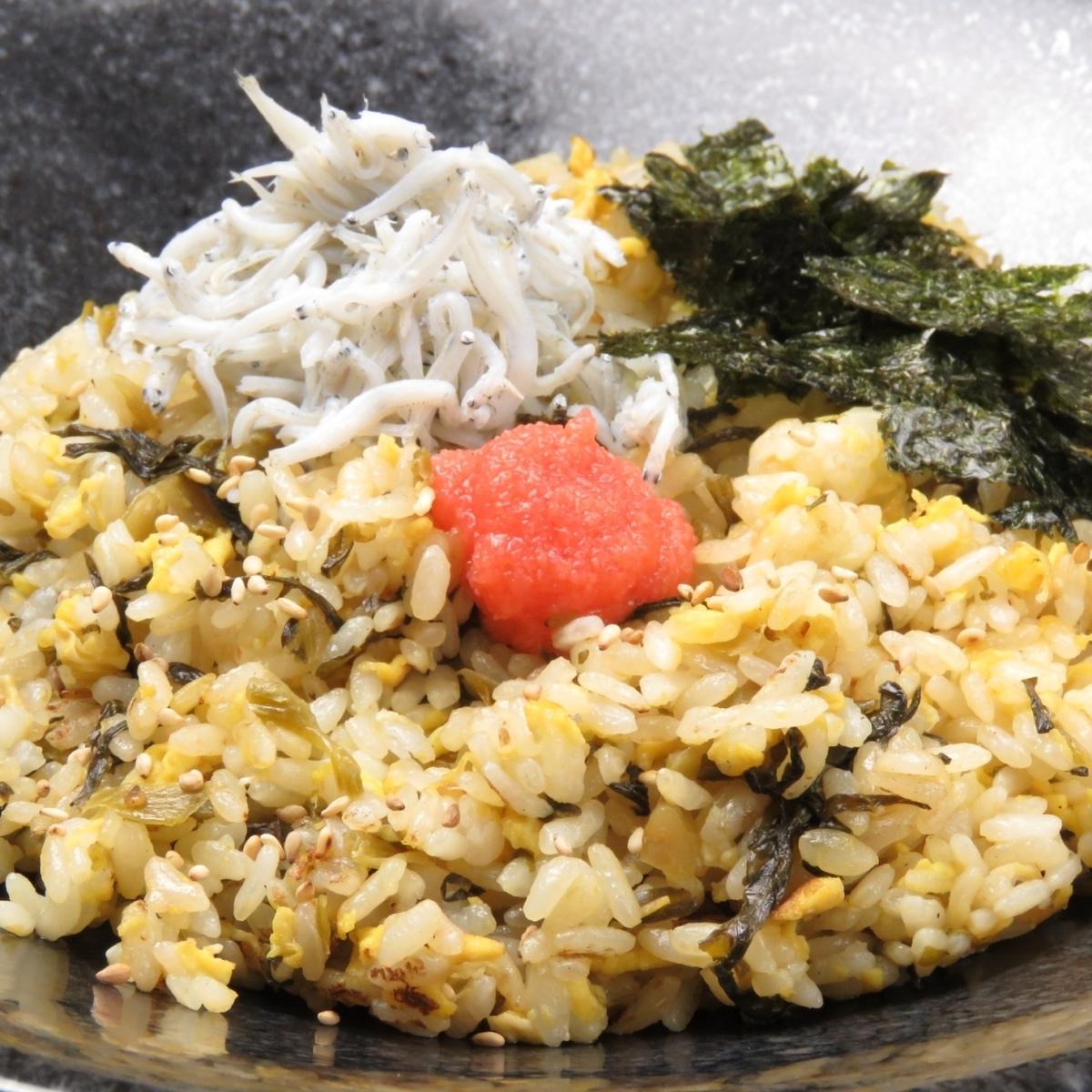 博多の高菜チャーハン