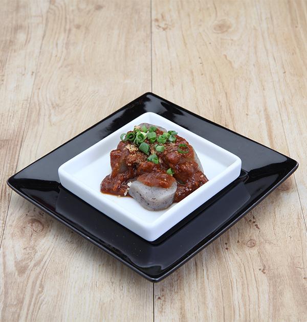 Konjac's meat miso voronaise
