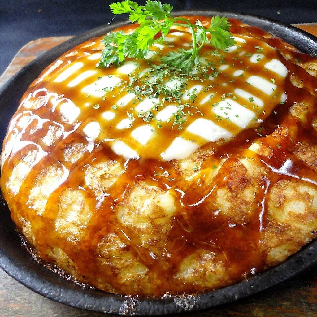 チーズ山芋ステーキ