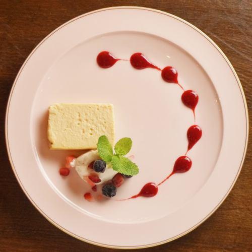 仙波豆富のしっとりベイクドチーズケーキ