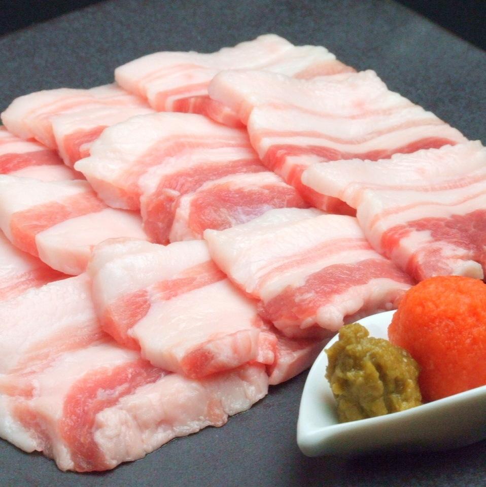 Fuji cherry pork