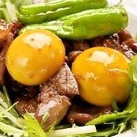 Kofu boiled with bonito
