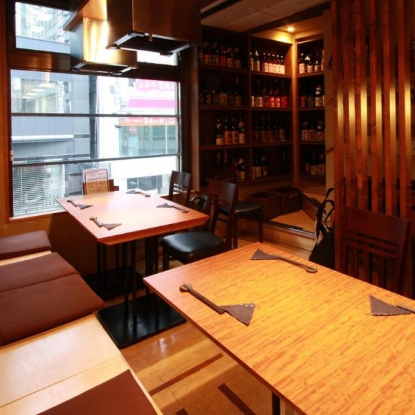 【2 F semi-private room】 ■ Floor private 7 to 10 people ■ 1 minute walk from Ginza station.Even if you visit us coming home comfortably, it is perfect for relaxing banquet in private room! Shizuoka / Yamanashi local gourmet course 3980 yen (with drinking) ~ ■ Usually 3 people ~