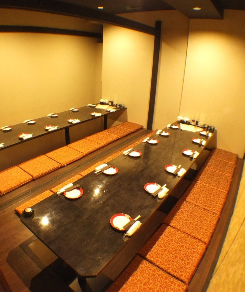 20 people or more in a private room 【Maximum 100 people】 ★