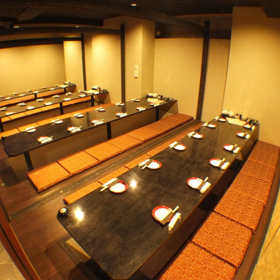 Over 40 people private room 【Maximum 100 people】 ★