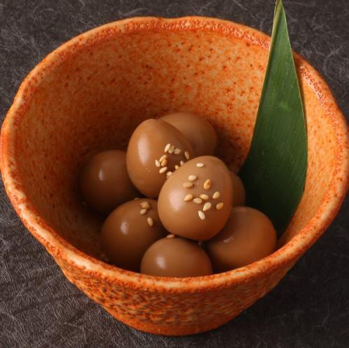 메추라기 도토리 (양념 계란)