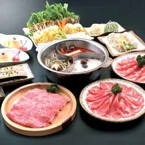Hot pot ★ Odo sheep course (partly free of charge) ⇒ 4980 yen (excluding tax)