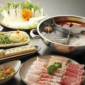 【On the day OK !!! Sanshin Drugs & Seasoned Hazelpot All-you-can-eat course C】 【Only dishes】 2980 yen (tax excluded)