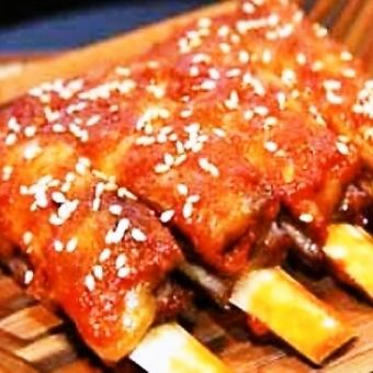 Of the best lamb spareribs (100g)