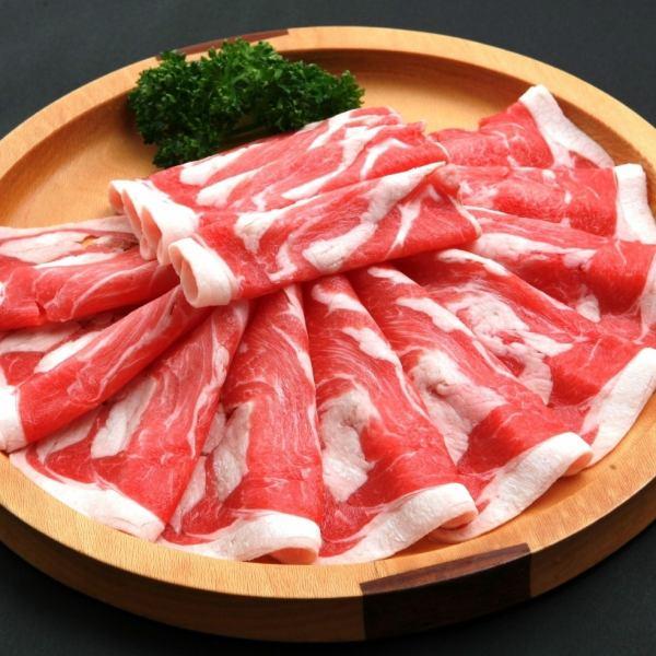 국산 닭고기 (100g) 450 엔 (세금 별도)