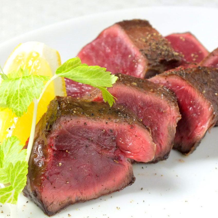 和牛ハツのステーキ