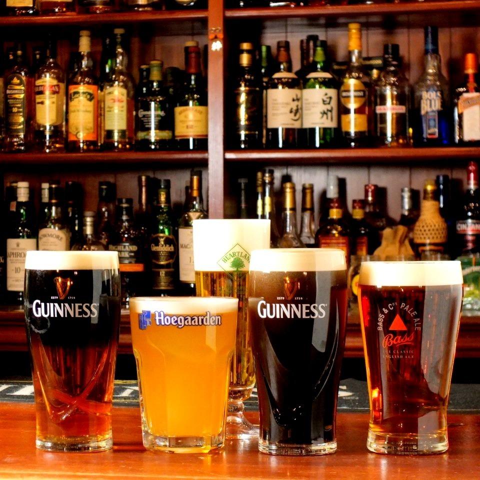 世界の生ビールが3種類!