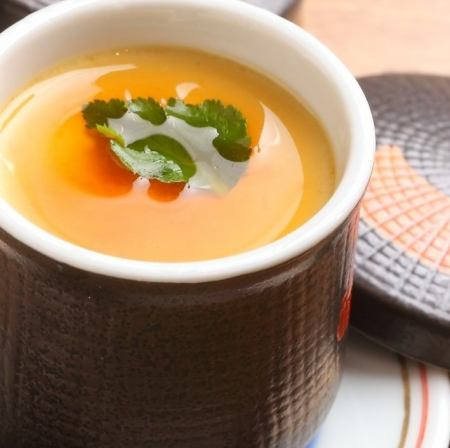 Savory egg custard
