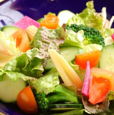 7 kinds of vegetable salad