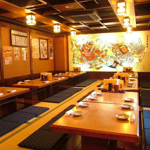 For banquets at Osaki, we can accommodate up to 40 people! Please do not hesitate to contact us.