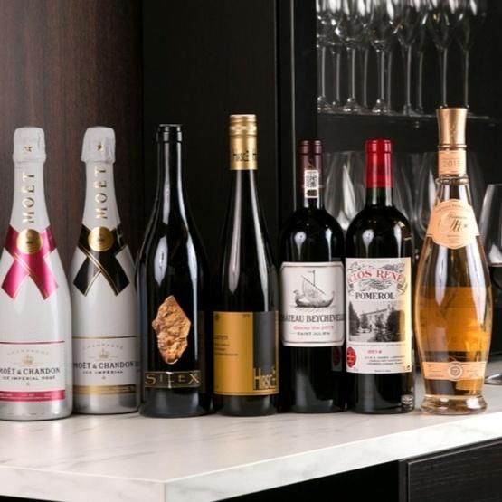 我們有來自世界各地的葡萄酒!