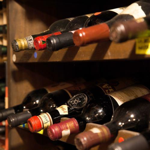 豊富なワインリスト◎